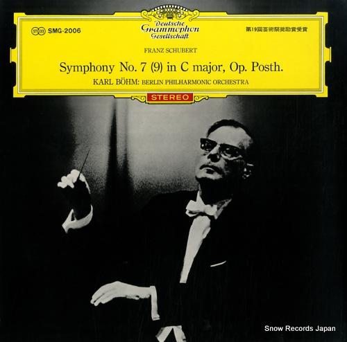 bohm karl schubert; symphony no.7 (9) in c major op.posth.