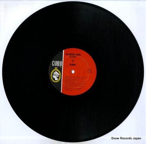 GIANNINI musical moods of italy C-4016 - disc