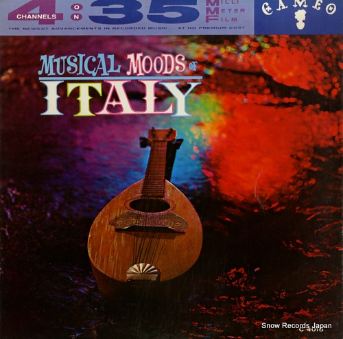 GIANNINI musical moods of italy C-4016 - front cover