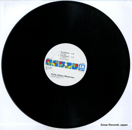 STOCK AITKEN WATERMAN roadblock SP-12250 - disc