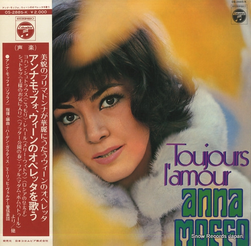 MOFFO, ANNA toujours l'amour OS-2885-K - front cover