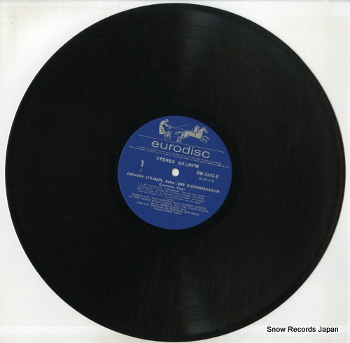 STOLZ, ROBERT strauss; der zigeunerbaron OW-7643-4-K - disc