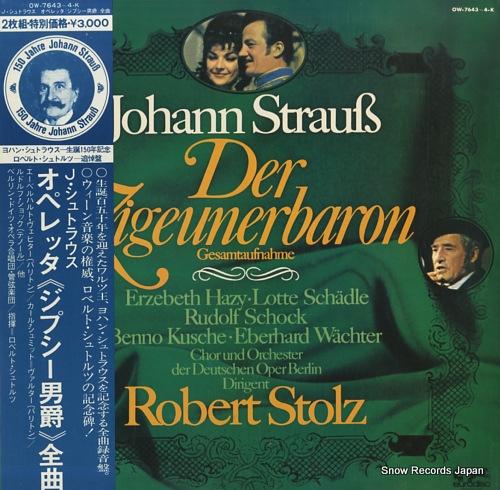 STOLZ, ROBERT strauss; der zigeunerbaron OW-7643-4-K - front cover