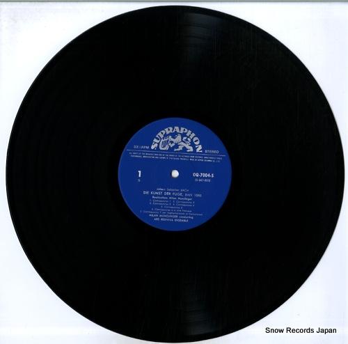MUNCLINGER, MILAN bach; die kunst der fuge OQ-7004-5-S - disc
