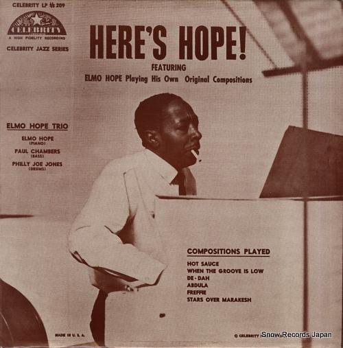 HOPE, ELMO here's hope! VSOP-2/CEL-209 - front cover