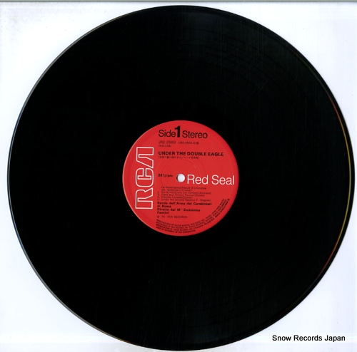 FANTINI, DOMENICO under the double eagle JRZ-2550 - disc