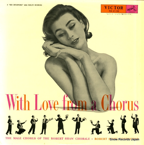 SHAW, ROBERT with love from a chorus RA-2139 - front cover