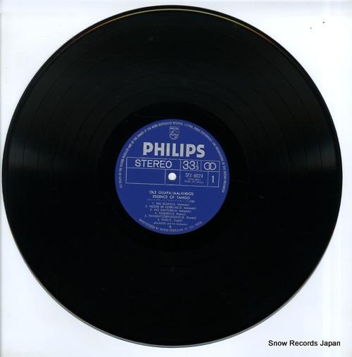 MALANDO AND HIS ORCHESTRA ole guapa / malando essence of tango SFX-6024 - disc