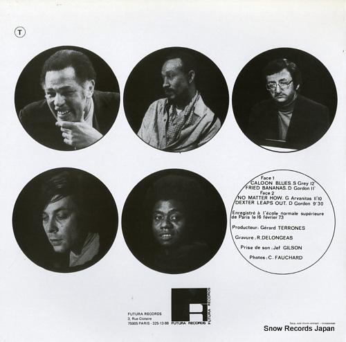 GORDON, DEXTER, SONNY GREY, GEORGES ARVANITAS TRIO parisian concert GER41/FUT2054 - back cover