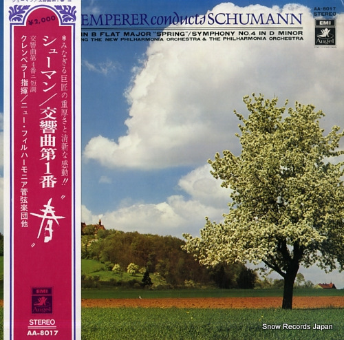 KLEMPERER, OTTO schumann; symphony no.1 in b flat major, op.38