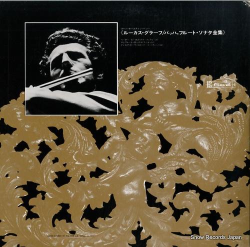 GRAF, PETER-LUKAS bach; die sonaten fur querflote ML8005/6 - back cover