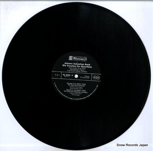 GRAF, PETER-LUKAS bach; die sonaten fur querflote ML8005/6 - disc