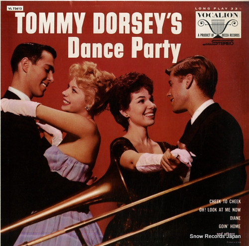 DORSEY, TOMMY tommy dorsey's dance party VL73613 - front cover