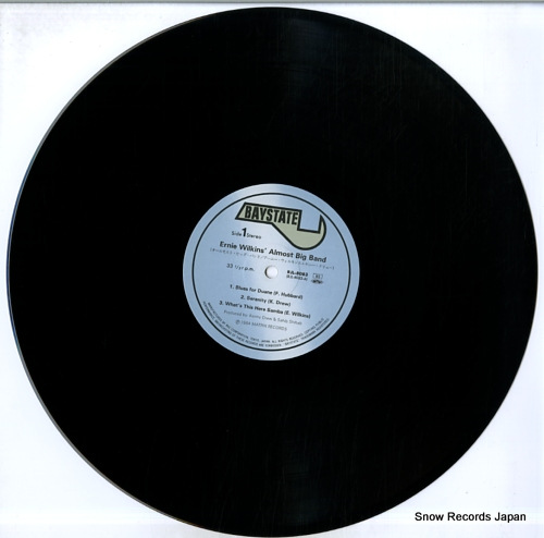 WILKINS, ERNIE almost big band live RJL-8083 - disc