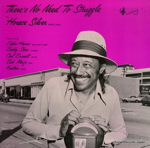 SILVER, HORACE there's no need to struggle SPR103 - front cover