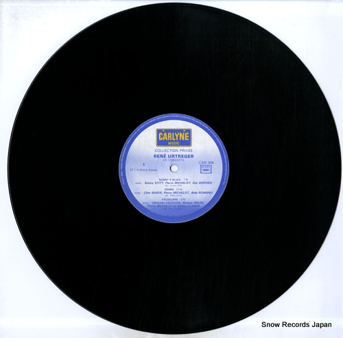 URTREGER, RENE collection privee CAR006 - disc