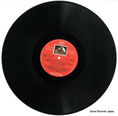 DONEUX, EDGARD gretry; zemire et azor 2C167-12881/2 - disc