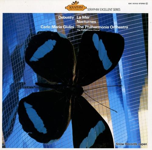 GIULINI, CARLO MARIA debussy; la mer / nocturnes EAC-30332 - front cover