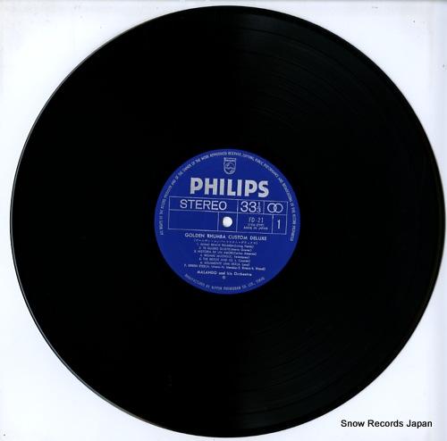 MALANDO golden rhumba custom deluxe FD-21 - disc