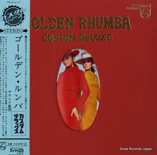 MALANDO golden rhumba custom deluxe FD-21 - front cover