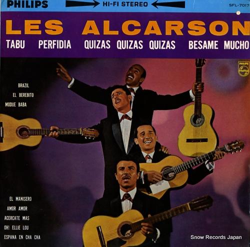 LES ALCARSON les alcarson SFL-7017 - front cover