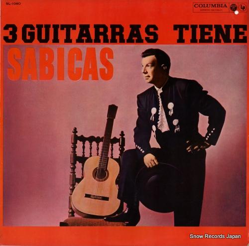 SABICAS 3 guitarras tiene sabicas SL-1080 - front cover