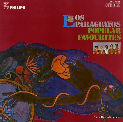 LOS PARAGUAYOS los paraguayos popular favourites SFL-7305 - front cover