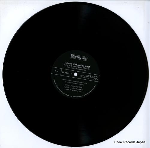 GRAF, PETER-LUKAS bach; suite h-moll / tripelkonzert a-moll ML2007 - disc