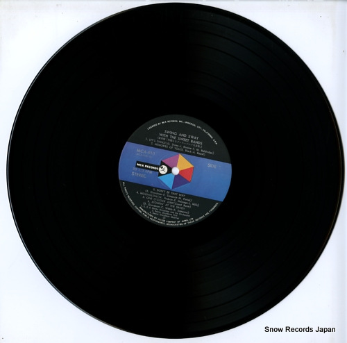 V/A swing and sway with the sweet bands MCA-9131-32 - disc