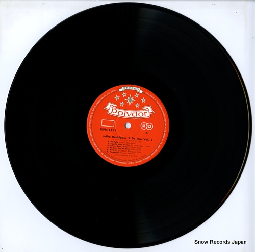 RODRIGUEZ, JULITO julito rodriguez y su trio vol.3 SLPM-1121 - disc