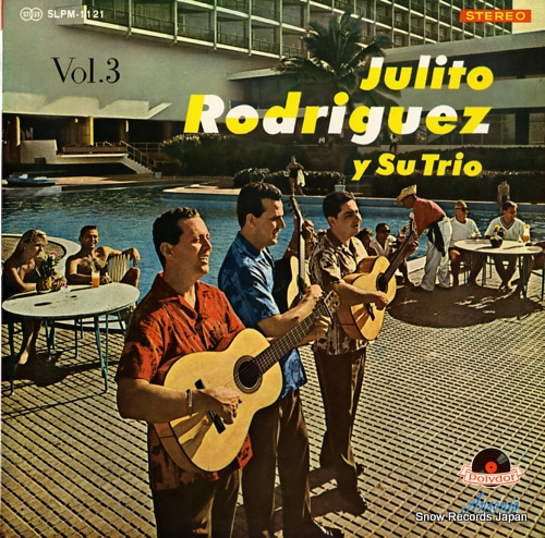 RODRIGUEZ, JULITO julito rodriguez y su trio vol.3 SLPM-1121 - front cover