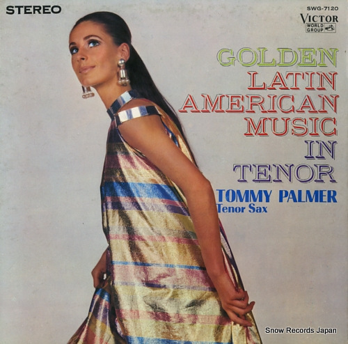 PALMER, TOMMY golden latin american music in tenor SWG-7120 - front cover