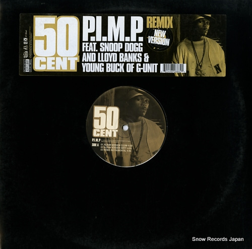 50 CENT p.i.m.p. (remix) B0000888-11 - front cover