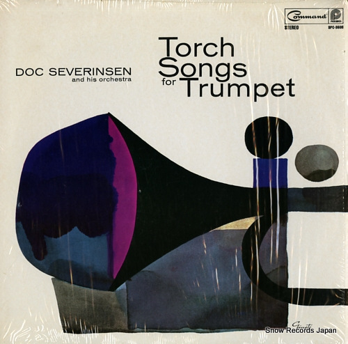 SEVERINSEN, DOC, AND HIS ORCHESTRA torch songs for trumpet SPC-3608 - front cover