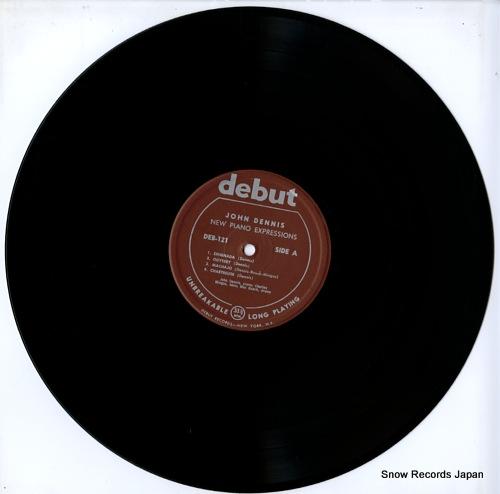 DENNIS, JOHN new piano expressions DEB-121 - disc