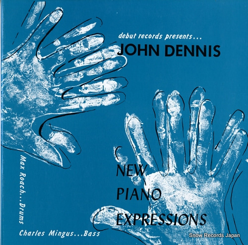 DENNIS, JOHN new piano expressions DEB-121 - front cover