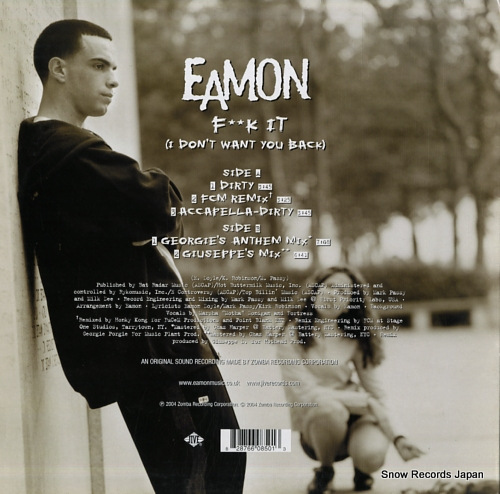 EAMON f**k it (i don't want you back) 82876608501 - back cover