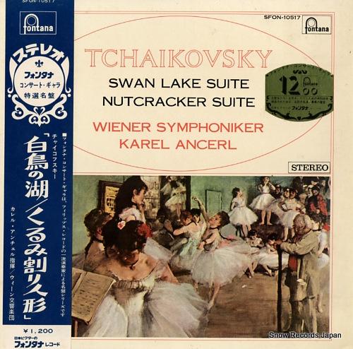 ANCERL, KAREL tchaikovsky; swan lake suite / nutcracker suite SFON-10517 - front cover