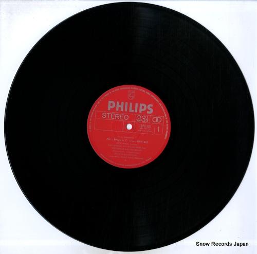 WINSCHERMANN, HELMUT bach; missa brevis 13PC-302 - disc