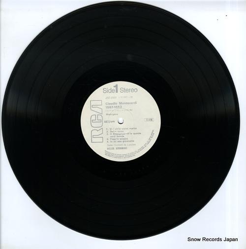 DELLER CONSORT DE LONDRES claudio montevedi JRZ-2001 - disc