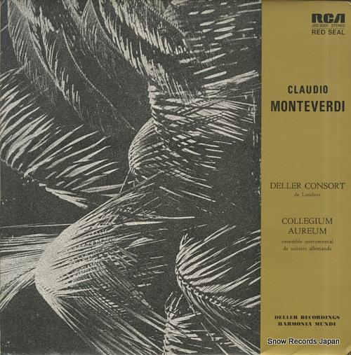 DELLER CONSORT DE LONDRES claudio montevedi JRZ-2001 - front cover