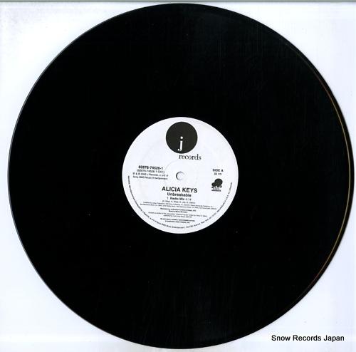 KEYS, ALICIA unbreakable 82876-74526-1 - disc