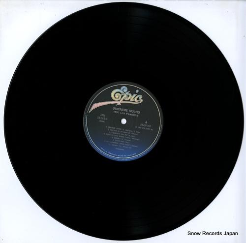 TRIO LOS PANCHOS quiereme mucho 28.3P-357 - disc