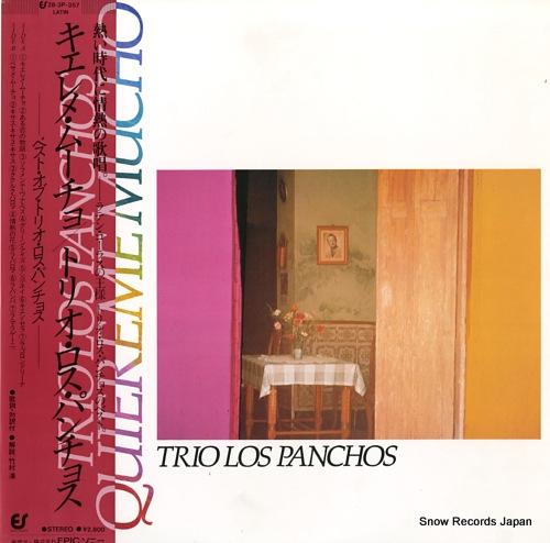 TRIO LOS PANCHOS quiereme mucho 28.3P-357 - front cover