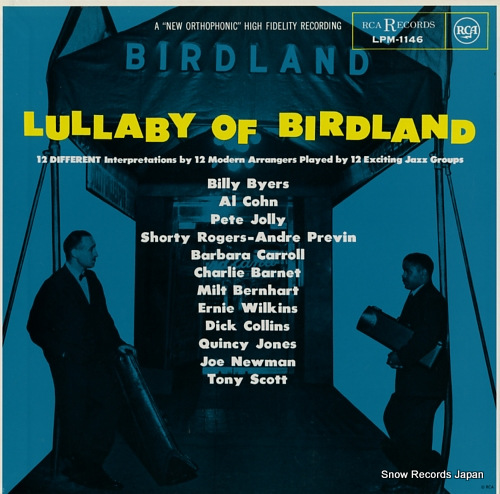 V/A lullaby of birdland LPM-1146 - front cover