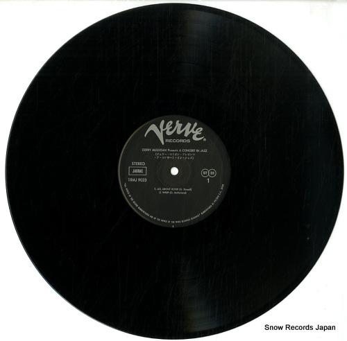 MULLIGAN, GERRY gerry mulligan presents a concert in jazz 18MJ9023 - disc