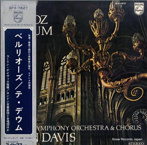 DAVIS, COLIN berlioz; te deum SFX-7827 - front cover