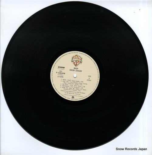 CASSIDY, SHAUN wasp P-10834W - disc