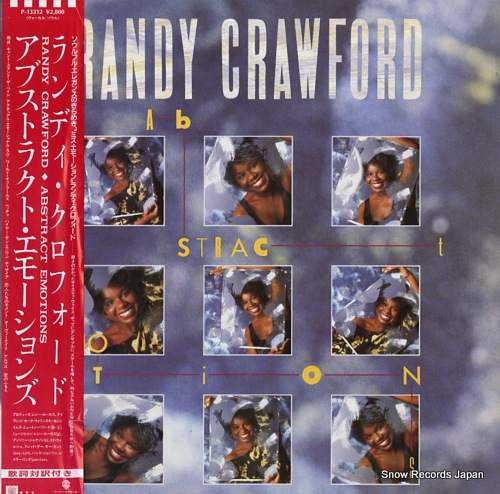 CRAWFORD, RANDY abstract emotions P-13312 - front cover