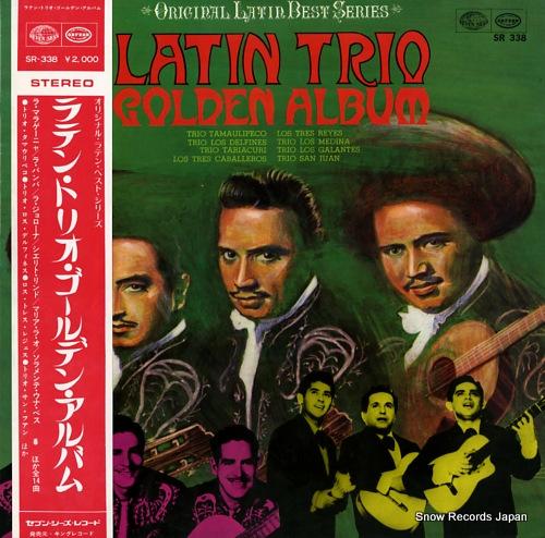 V/A latin trio golden album SR-338 - front cover
